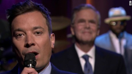jeb bush on late show jimmy fallon orig pkg_00004125
