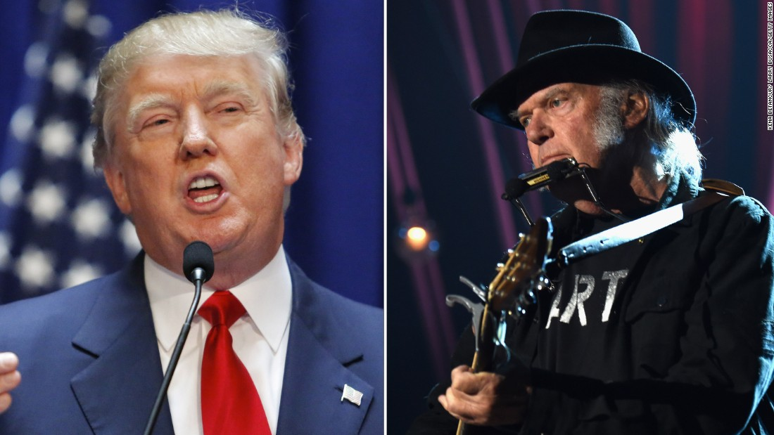 Neil Young 'NOT ok' with Trump playing his music at Mount Rushmore event – CNN
