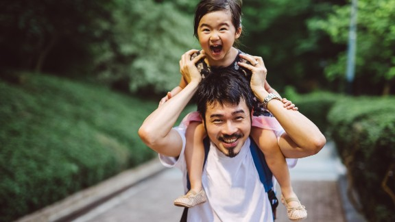 Lean In, a women's empowerment organization, wants stock photos to reflect the changing nature of fatherhood. These images portray dads who appear emotionally accessible and actively involved in their kids' lives.