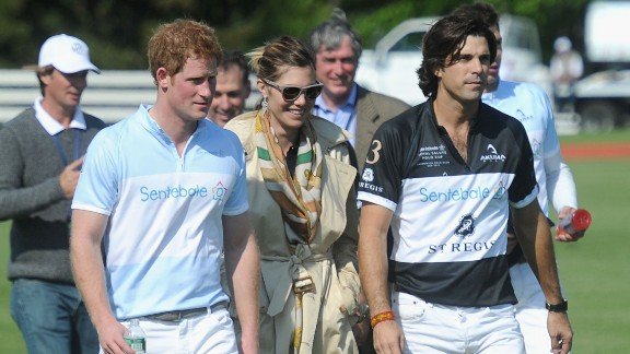 The sport has also brought him in close contact with Prince Harry and the pair have become close through the Prince