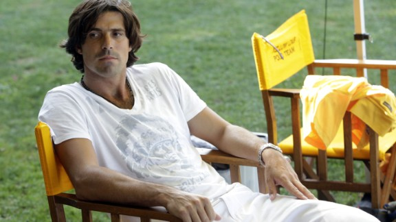 Polo player Nacho Figueras has been likened to David Beckham with his playing, modeling and charity work.