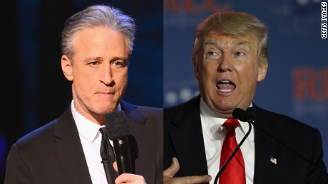 Jon Stewart rips into Donald Trump