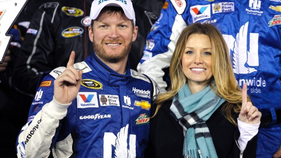 Racecar driver Dale Earnhardt Jr. announced via Twitter on June 17 that he had proposed to girlfriend Amy Reimann while the two were on vacation in Germany. Earnhardt and Reimann have dated since 2009.