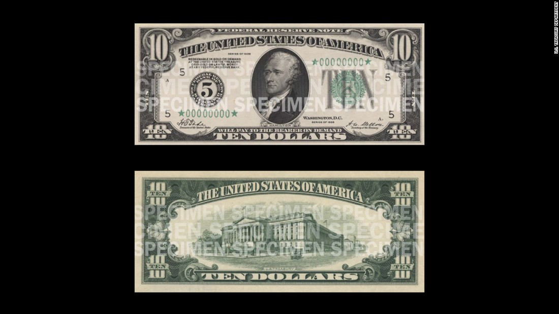 1929 marked the year in which all currency was reduced in size. The cost-cutting measure also meant that designs were standardized across denominations.