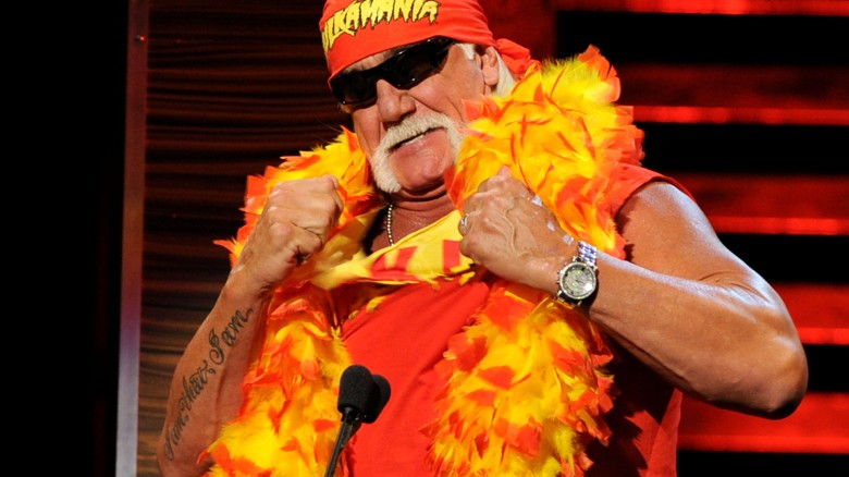 Hulk Hogan heard saying the n-word on tape