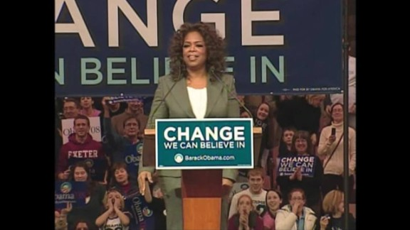 Winfrey was an ardent supporter of Barack Obama's presidential campaign in 2008 and his re-election bid four years later.