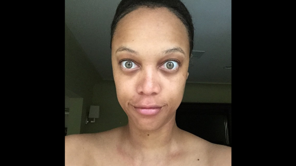 "Tyra Banks is a former supermodel who knows a thing or two about makeup and Photoshop. But in June 2015, she posted an unretouched, makeup-free photo of herself on Instagram with the caption, ""You deserve to see the REAL me."""