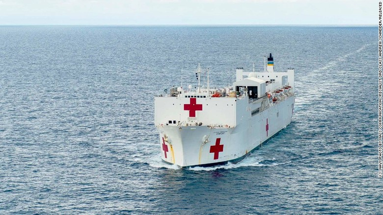 Usns comfort is the worlds biggest hospital ship cnn with more than 700 medical personnel 5000 units of blood and 12 operating rooms stopboris Choice Image