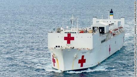 USNS Comfort is the world's biggest hospital ship - CNN