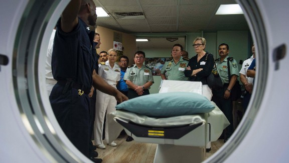A radiology suite is just one part of the ship