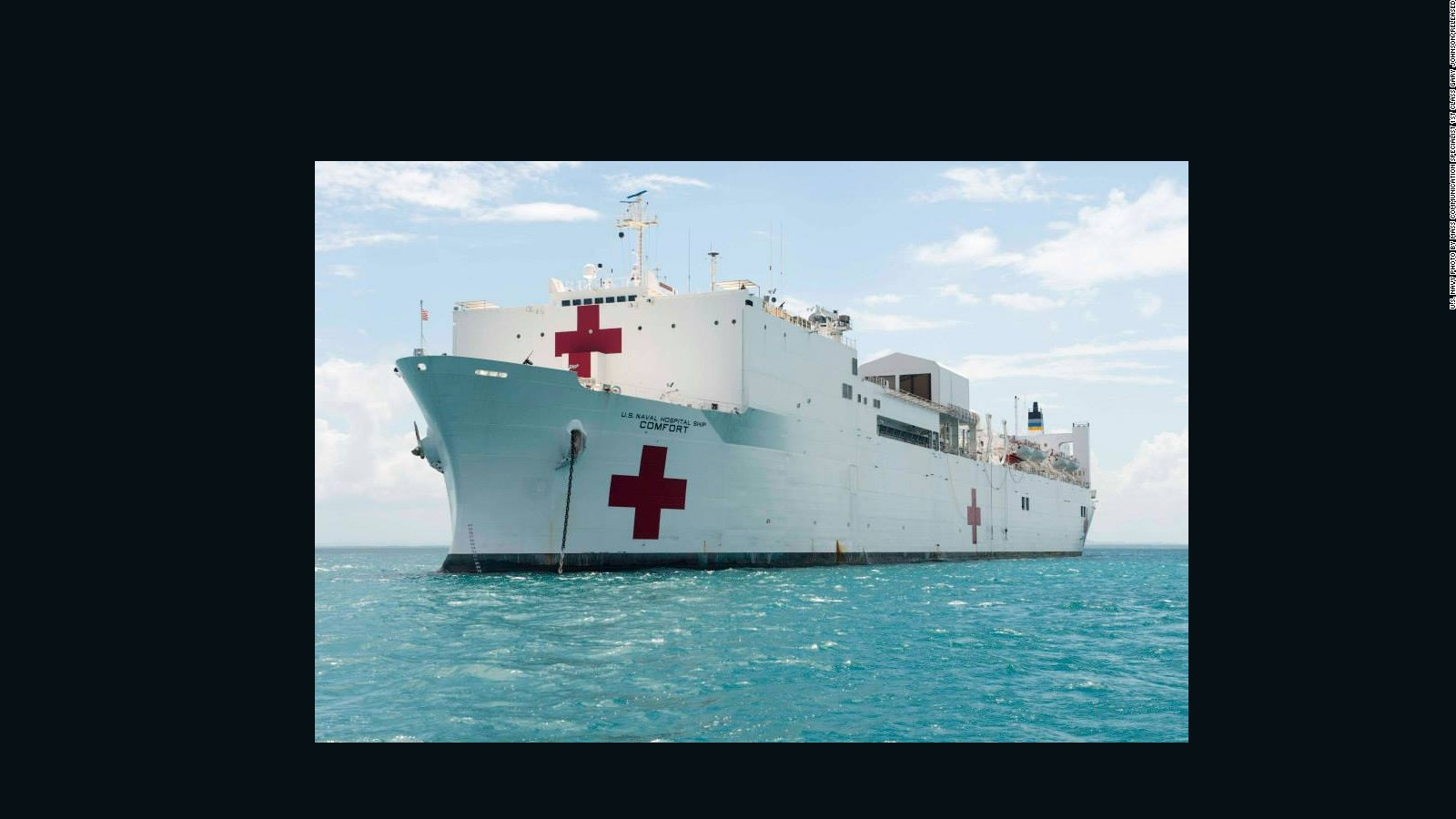 Us Military Sends Ships Aircraft To Puerto Rico Cnnpolitics