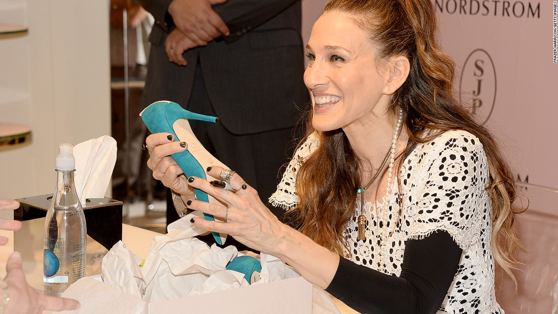 Sarah Jessica Parker's alter-ego in 'Sex and The City' was known for her love of high-end shoes. Last year, the actress who played Carrie launched a real-life shoe line called the SJP Collection.