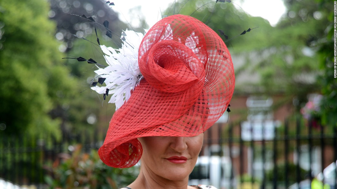 The lady behind many of the Royal Ascot hats is local designer Ilda Di Vico cb1d4512aaeb
