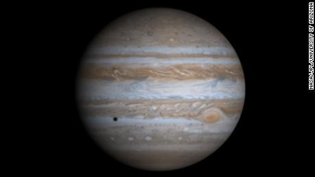 NASA says it may have spotted water plumes on Jupiter's moon