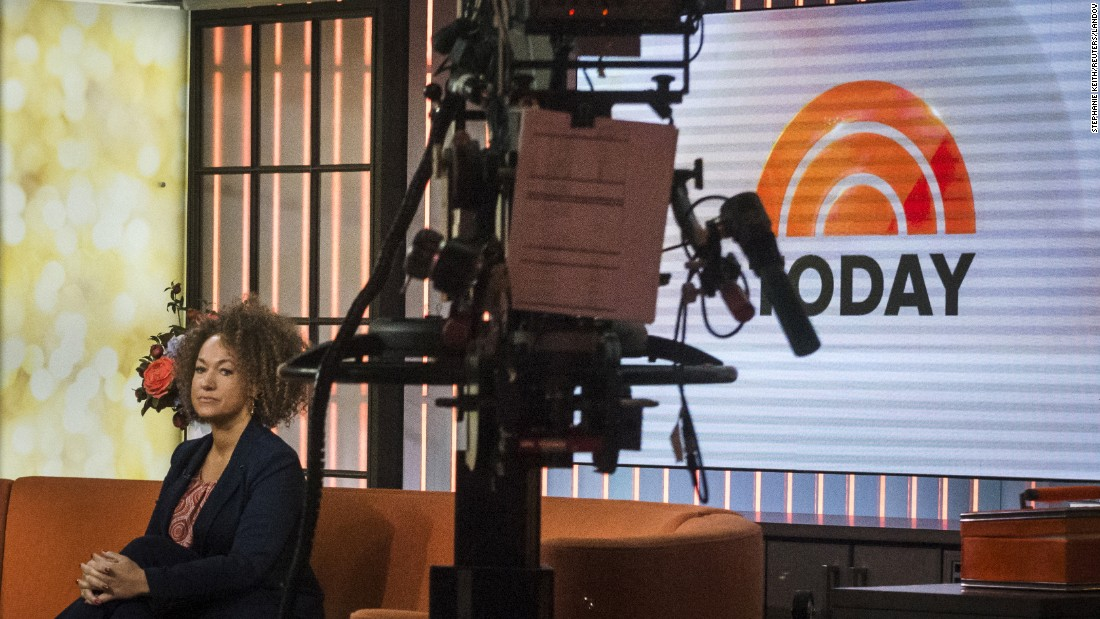 "Rachel Dolezal, a civil rights advocate from Spokane, Washington, appears on NBC's ""Today"" show on Tuesday, June 16. Dolezal's birth certificate says that she was born to white parents, but she told NBC's Matt Lauer that she identifies as black. <a href=""http://www.cnn.com/2015/06/17/us/washington-rachel-dolezal-naacp/index.html"" target=""_blank"">Amid a highly charged national debate,</a> Dolezal resigned as head of her local NAACP chapter."