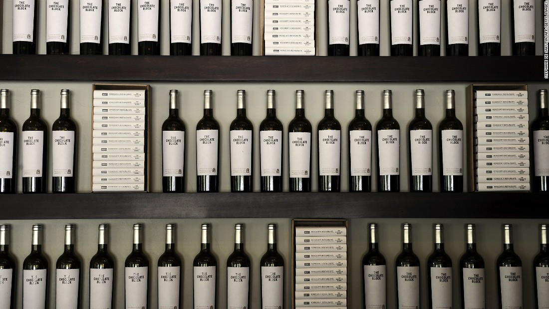 A newly released red on display at a vintners. Marketing and sales-related costs represent 3.6% of total costs according to PwC, and this is expected to increase in a market becoming even more competitive.