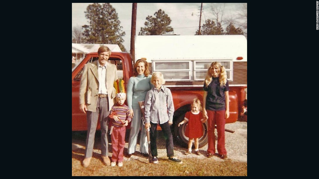 "<a href=""http://ireport.cnn.com/docs/DOC-1248578"">Norm Alger</a> submitted this photo of his family in South Carolina in 1972. He loved to play outside with his friends during the 70s. ""As kids we all played together, built forts, played tag, sports, and were adventurous,"" Alger said. ""We loved being outside and riding our bikes and skateboards and knew we had to head home when the street lights came on."""