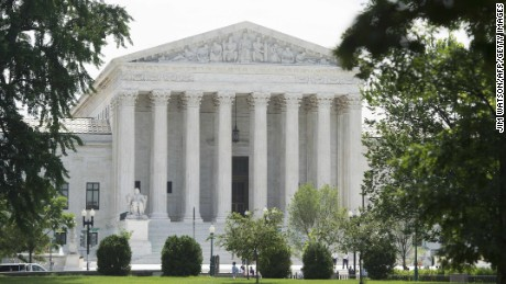 A general view of the US Supreme Court in Washington, DC, June 18, 2015. AFP PHOTO/JIM WATSON (Photo credit should read JIM WATSON/AFP/Getty Images)Supreme Court building exterior