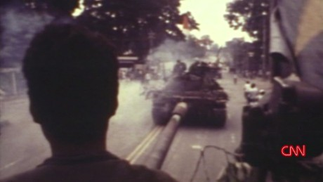 Vietnam War's final chaotic moments