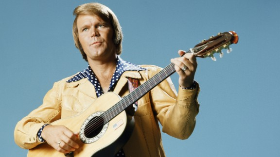 Glen Campbell, the upbeat guitarist from Delight, Arkansas, whose smooth vocals and down-home manner made him a mainstay of music and television for decades, has died after a lengthy battle with Alzheimer's disease, his family announced on Tuesday, August 8. The six-time Grammy Award winner was 81.