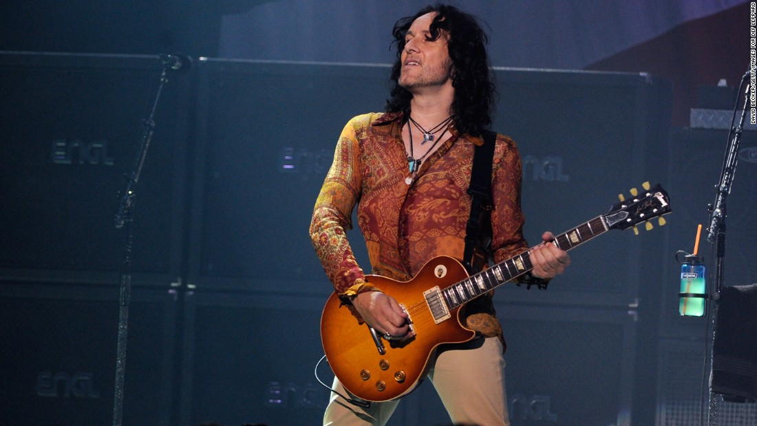 Def Leppard guitarist Vivian Campbell, 52, pulled out of the band's tour in June 2015 after his Hodgkin's lymphoma returned.