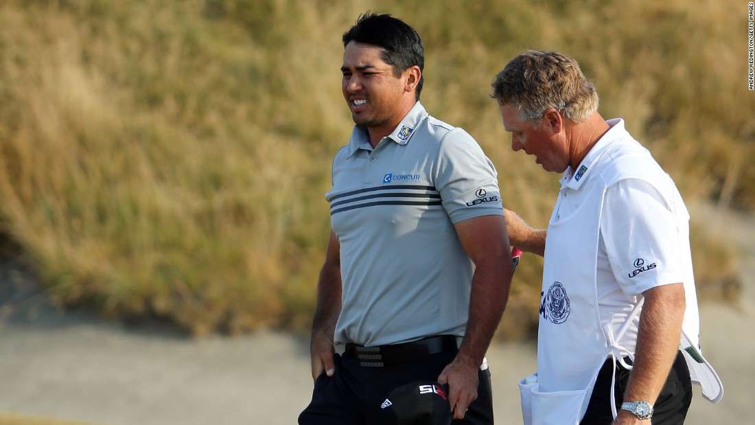 Jason Day had shared the lead going into the final round despite suffering bouts of vertigo. But the Australian could not sustain his heroic effort and fell back into the pack.
