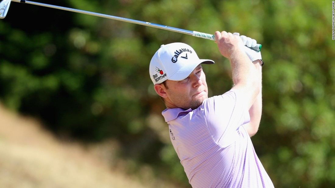 Joint overnight leader Branden Grace was mounting a strong challenge to Spieth before a double bogey on the 16th.
