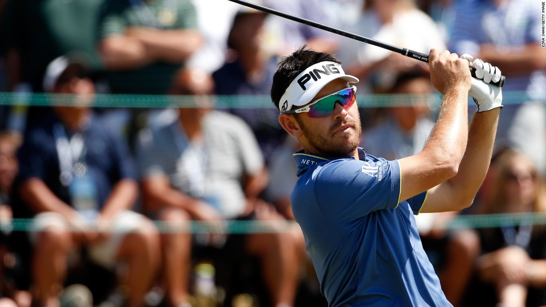 Former British Open champion Louis Oosthuizen ripped through the back nine in 29 shots for a 67 and four-under aggregate of 276 to tie for second with Johnson.