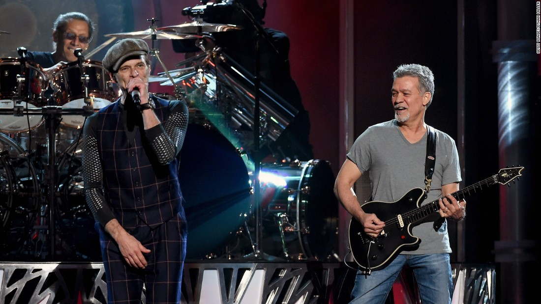 David Lee Roth, left, and Eddie Van Halen perform at the Billboard Music Awards on May 17. Here are other notables from the show.
