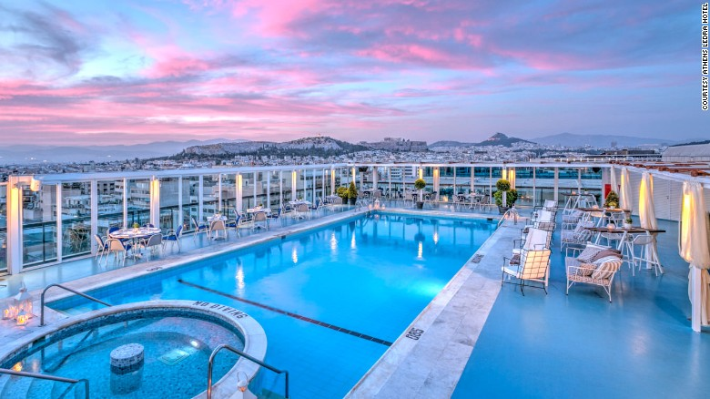7 Hotel Rooftop Pools With Amazing City Views | CNN Travel