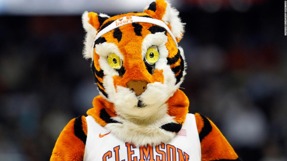 It says a lot about the state of some mascots that this isn't the scariest big cat in this list. The Tiger, mascot for the Clemson Tigers, is beaten to that dubious honor by ...
