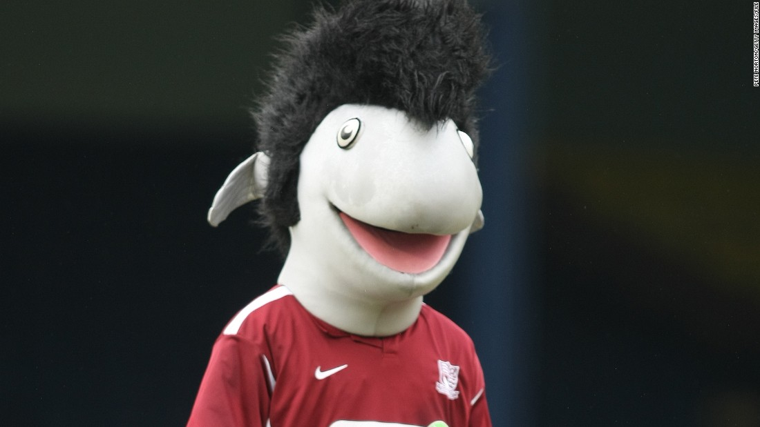 Partick's new mascot Kingsley: Scary or sun-like? - CNN