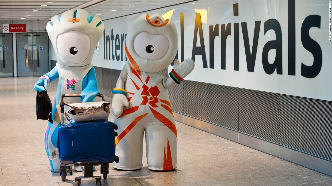 It was pretty hard to dampen the party mood in London during the 2012 Olympic Games, that was until anyone caught a glimpse of these two. Wenlock and Mandeville were supposedly made from a girder but many wished one would be dropped on them instead.