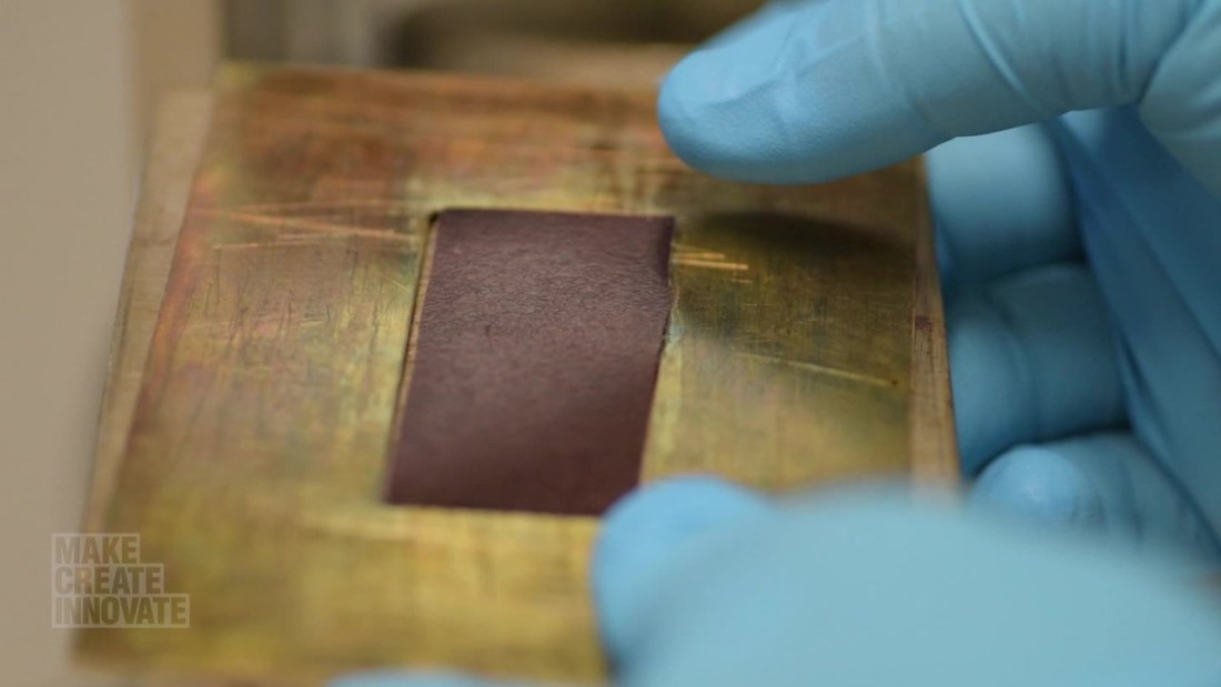 Just add heat and a Zinc catalyst to see the material restore itself.