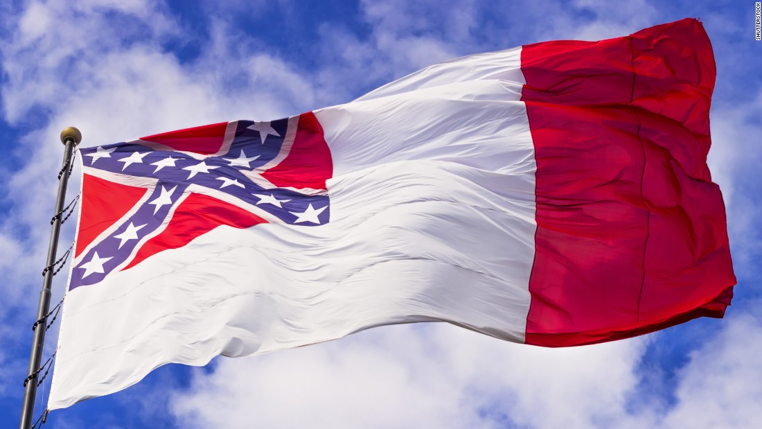 The third National Flag of the Confederacy was the final flag of the Confederate government and