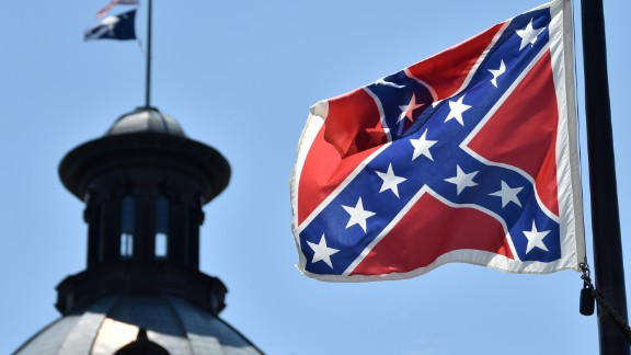 "The Confederate Battle flag known as the ""Southern Cross"" has 13 stars to represent the defeated Confederate States of America."