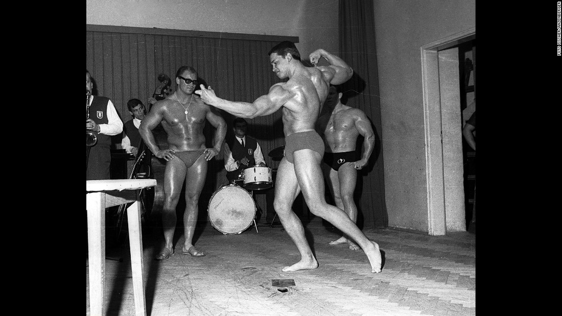 "Schwarzenegger started training with bodybuilders. In 1961, he met former Mr. Austria Kurt Marnul, who invited him to train at the Graz Athletic Union in Graz's Liebnauer Stadium. ""I started to live for being in the gym,"" Schwarzenegger said, training five to six times a week and sometimes breaking into the gym on weekends when it was closed."