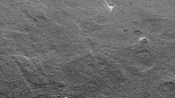 NASA's Dawn probe captured this image of a 3-mile-tall pyramid-shaped structure rising from a plain on the surface of the dwarf planet Ceres. The discovery has further fueled speculation about just what mysteries Ceres may hold. The image was taken on June 6, 2015.