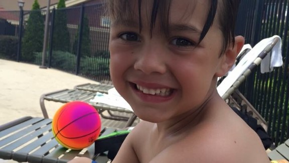 """""""When I watch Donovan outside playing by himself, or when we go on vacation, I can"""