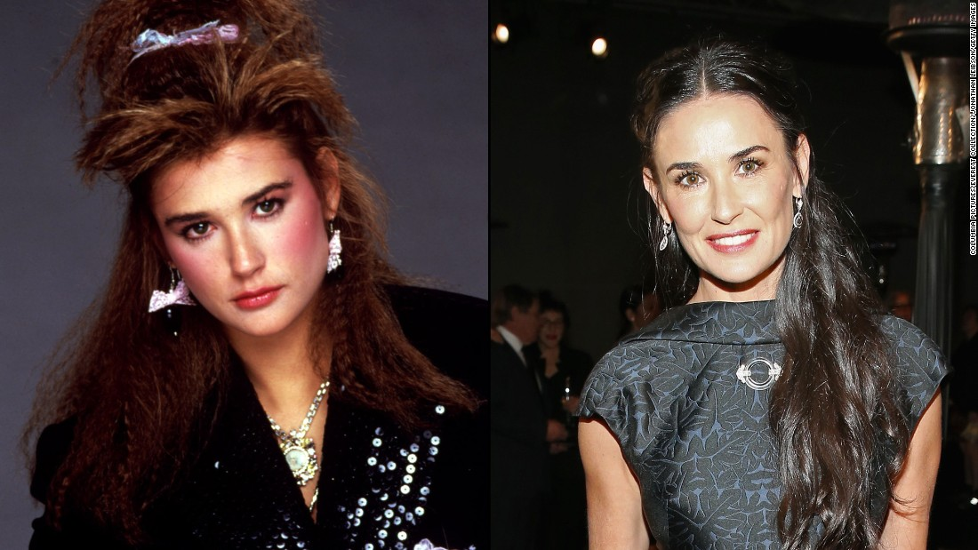 "Demi Moore starred in ""St. Elmo"" as troubled party girl Jules Van Patten. Moore went on to star in a slew of well-known films including ""Ghost"" and ""A Few Good Men."" She also made headlines for her high-profile marriages to Bruce Willis and Ashton Kutcher."
