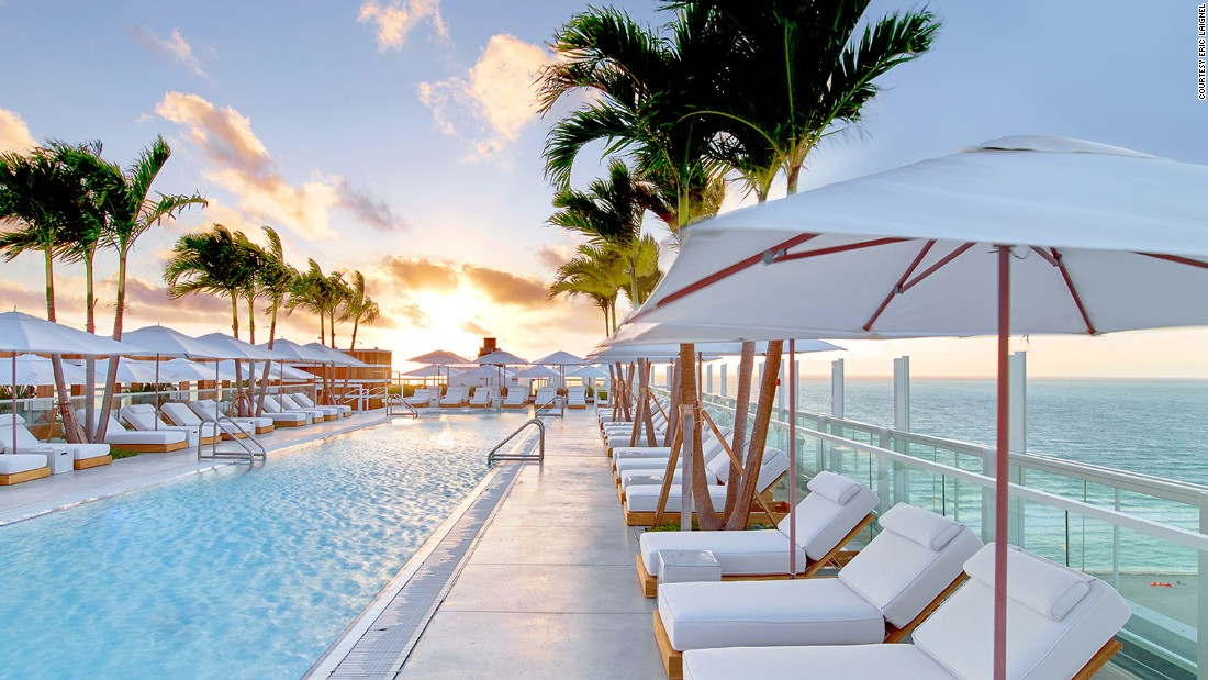 Three words describe 1 Hotel South Beach: spacious, experiential, tasty. With 700-square-foot rooms, extensive list of activities and Tom Colicchio's Beachcraft restaurant, the new hotel delivers Miami the way we want it. Spa and fitness center on the way.