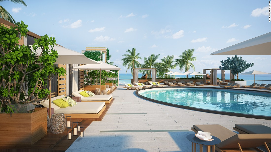 Chef Nobu Matsuhisa, Robert De Niro and Hollywood producer Meir Teper are behind Nobu Hotel, which premieres in late 2015. Its highly anticipated restaurant and bar open in August, just ahead of the hotel itself.