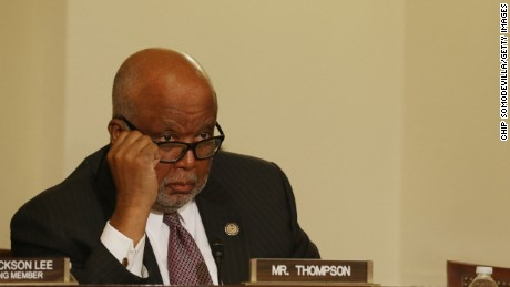 The House Homeland Security Committee ranking member Rep. Bennie Thompson (D-MI) attends a hearing of the Border and Maritime Security Subcommittee in the Cannon House Office Building on Capitol Hill September 10, 2014 in Washington, D.C.