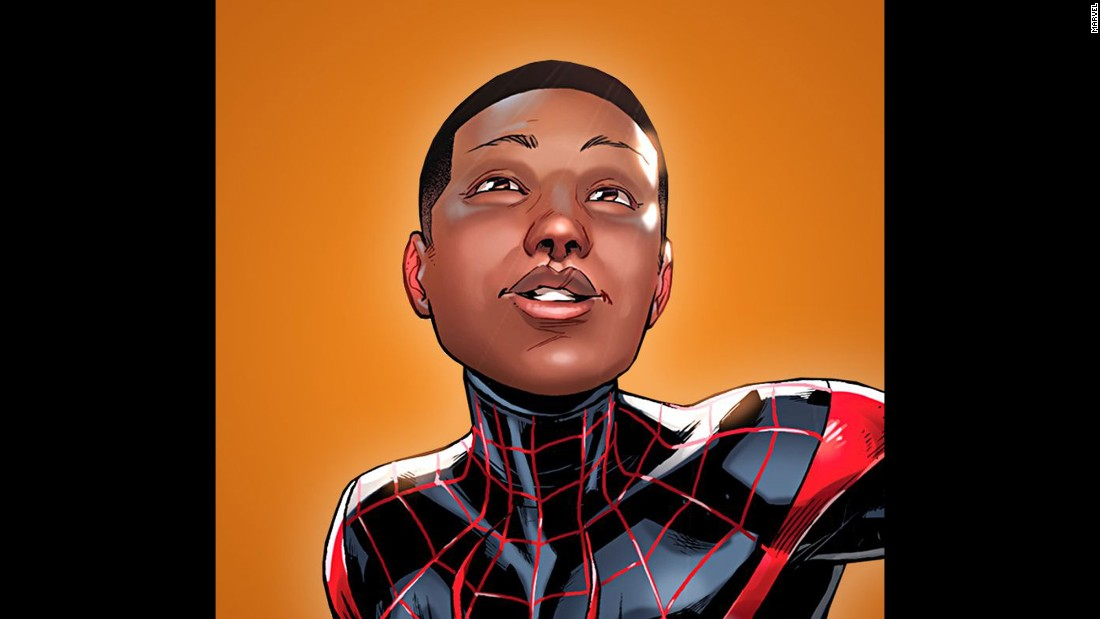 "When the relaunched ""Spider-Man"" hits comic book stores this fall, the half-black, half-Latino Miles Morales will have moved from Marvel Comics' ""Ultimate"" series to replace Peter Parker in the main ""Spider-Man"" series."
