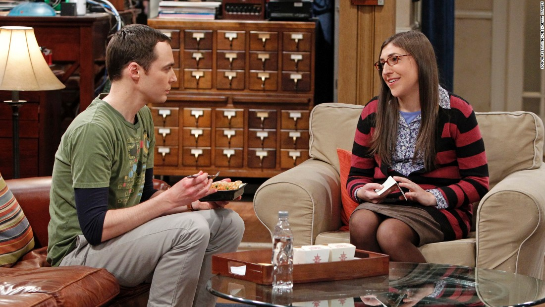 Is sheldon hookup amy in real life