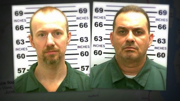 David Sweat and Richard Matt