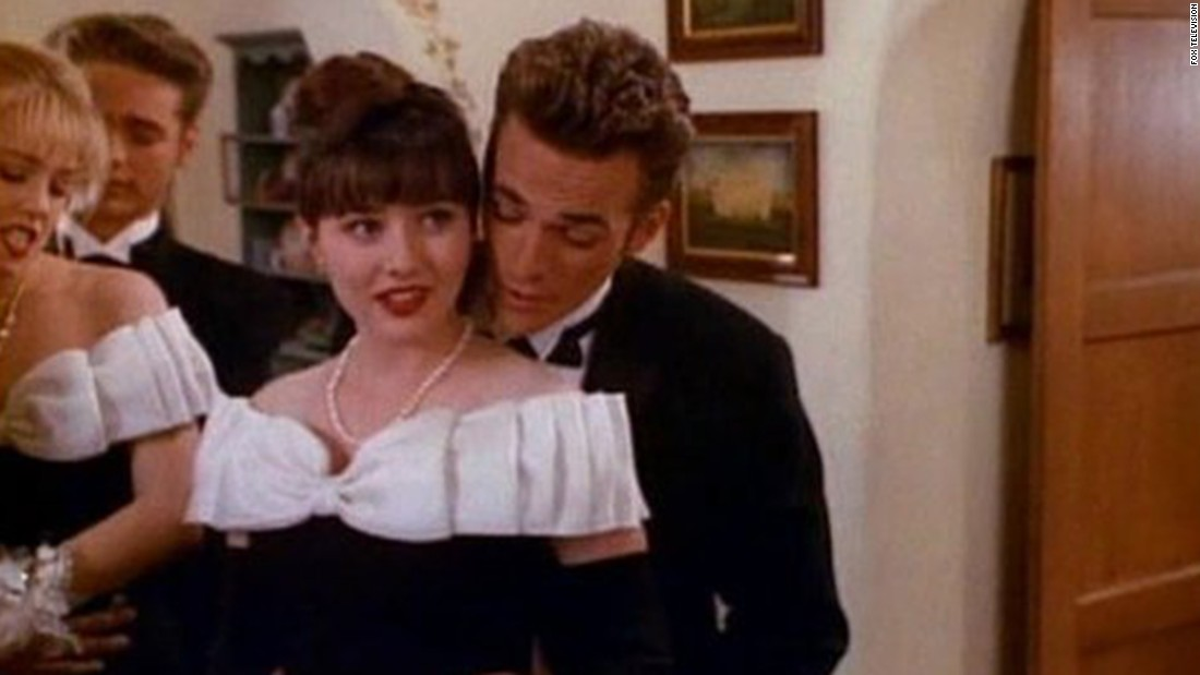 "Dylan McKay and Brenda Walsh (Luke Perry and Shannen Doherty) were the ""It"" couple on ""Beverly Hills 90210,"" helping the show become one of Fox's first hits. But there was friction between Doherty and other cast members, and that was it for romance"