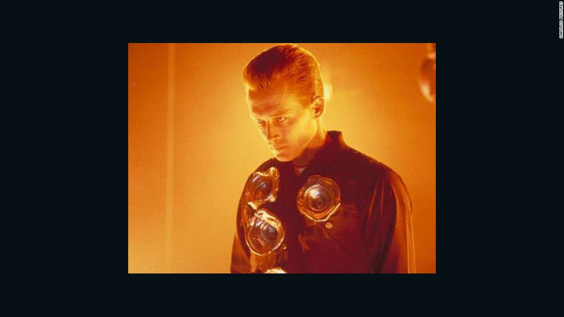 Dr. Leibler was inspired by the liquid metal T-1000 from 'Terminator 2: Judgement Day.'