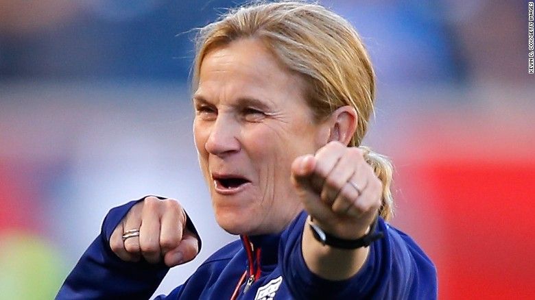 Jill Ellis will have coached the USWNT for a record number of times when she leads out the US on Friday.