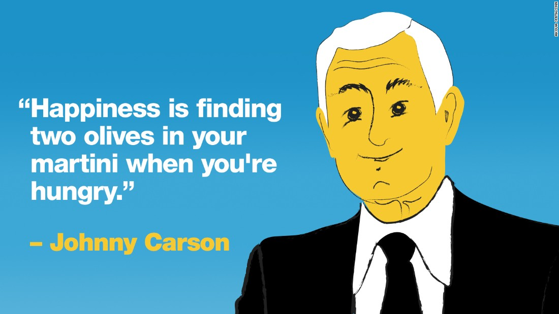 Project Happy quotes Carson
